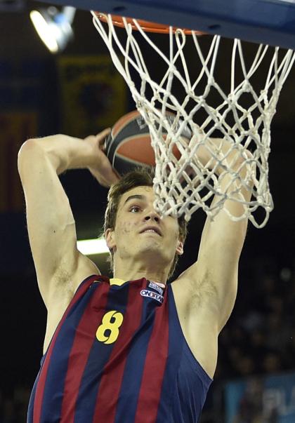 Hezonja teve lampejos pelo Barcelona, mas não foi aproveitado da melhor forma