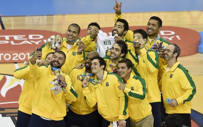 seleção brasileira campeã do Pan de Toronto