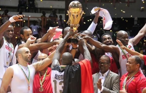 Angola defende o título de 2013. Mais um
