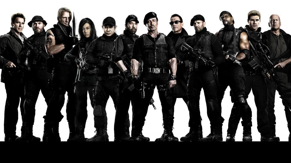 Os Mercenários, The Expendables