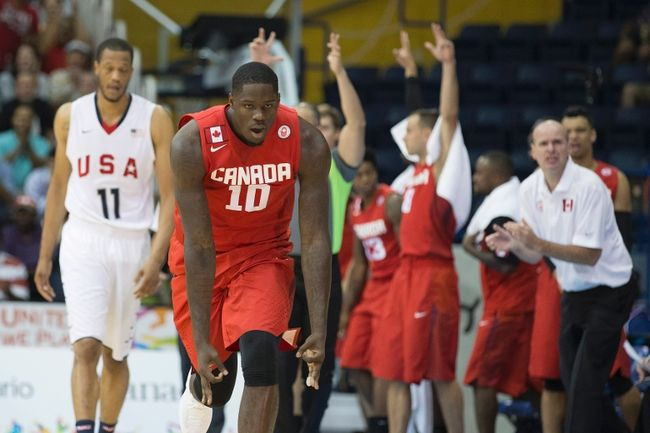 Anthony Bennett, Canadá, Pan Am