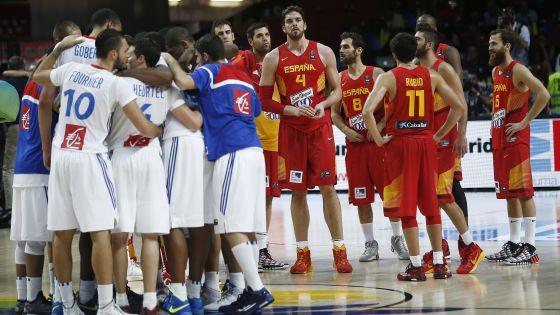 A França venceu as últimas duas contra a Espanha. Na Copa, doeu para Gasol