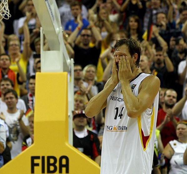 Dirk Nowitzki, despedida, Alemanha