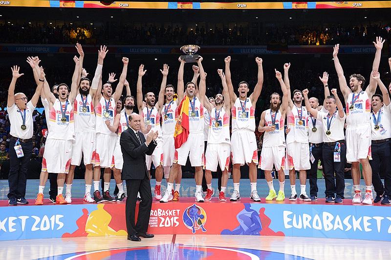 Três dos últimos quatro EuroBaskets terminaram assim