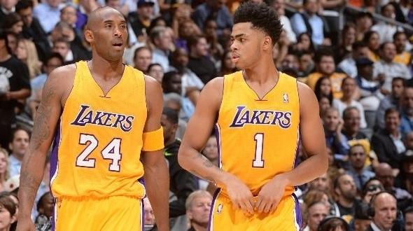 O que importa, mesmo, para o Lakers, a partir de agora, é o desenvolvimento de D'Angelo Russell e não os números de Kobe