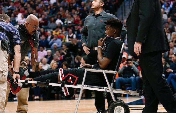 Agora Chicago sofre com o joelho de Butler
