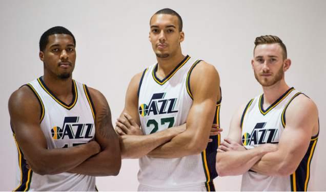 Favors, Gobert e Hayward, pilares do Utah. Vão adicionar mais alguém?