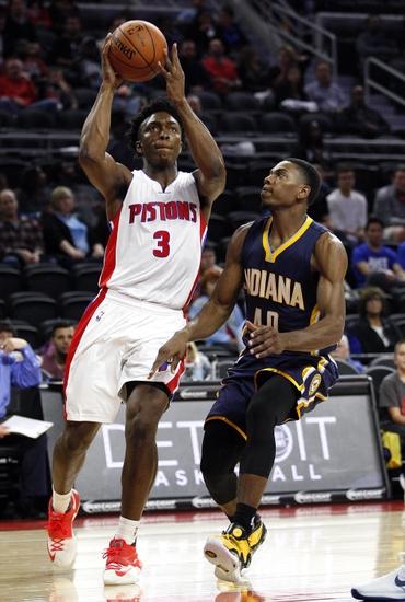 Stanley Johnson tem apenas 19 anos. Sua evolução como cestinha pode deixar o Pistons ainda mais perigoso na próxima temporada, e com um trio intercambiável com Morris e Harris
