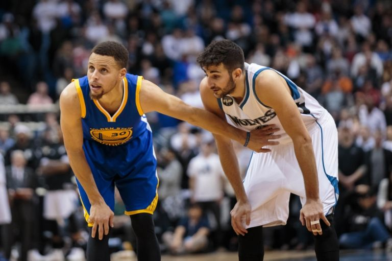 Curry e Rubio até poderiam ter jogado juntos