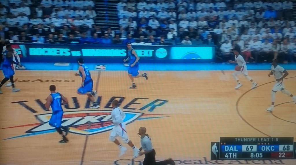 Westbrook quer acelerar, mas a turma toda já está voltando