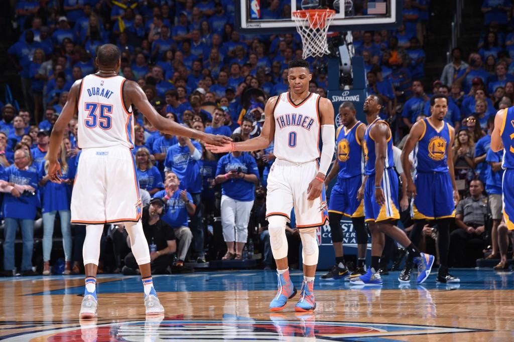 Durant e Westbrook: o último jogo da dupla em OKC? Ou só um deslize?