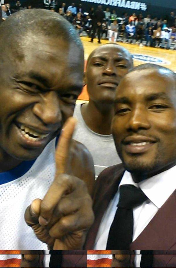 Só está faltando Mutombo de diretor em Orlando para a Conexão Congo ficar completa