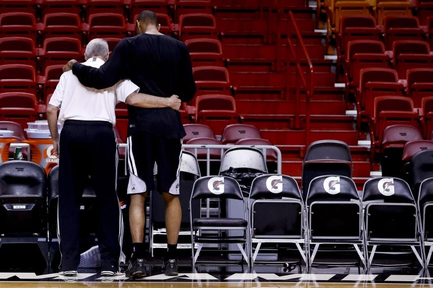 NBA: Finals-San Antonio Spurs-Practice