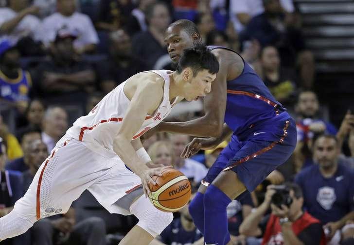 Zhou Qi, draftado pelo Rockets, é promessa chinesa. Mas para 2020