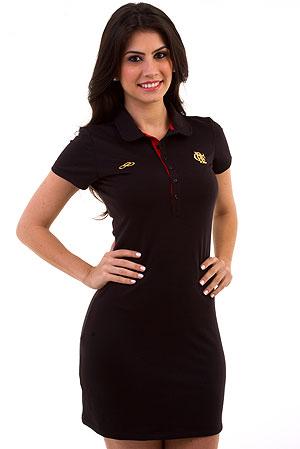 a7fb8a2661 Vestido feminino é destaque em nova coleção retrô do Flamengo ...