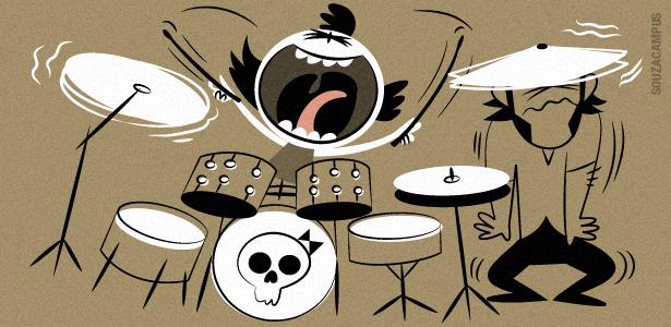 Vida de Pai: baterista
