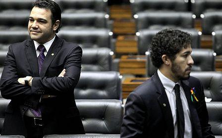 Feliciano (D) e Jean - embates calorosos à vista. Foto extraída do gospelmais.com.br
