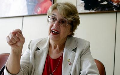 A deputada Margarida Salomão. Foto: Flickr pessoal