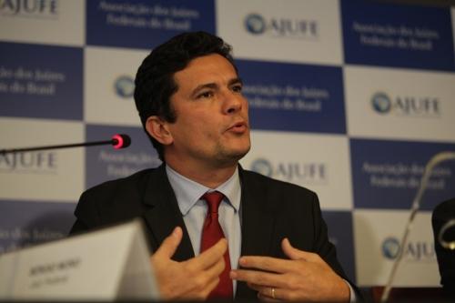 O juiz Moro, em Brasília: endosso a minuta da AJUFE sobre mudança no Código de Processo Penal. Foto: Augusto Dauster