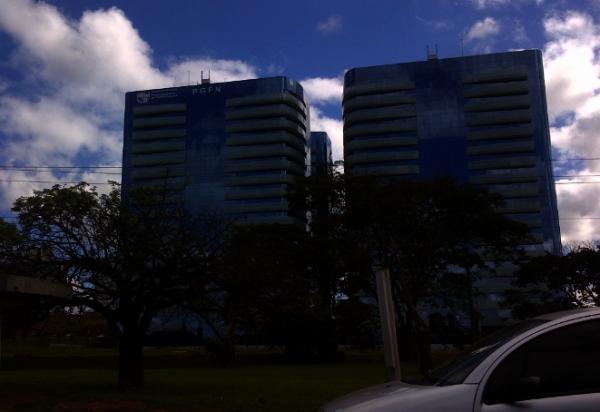 A nova sede da PGFN - um edifício inteiro, à esquerda, no bloco de quatro recém-erguido na Asa Norte.