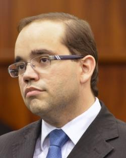 Deputado Fábio - ele protocola hoje a PEC. Foto: al.go.gov