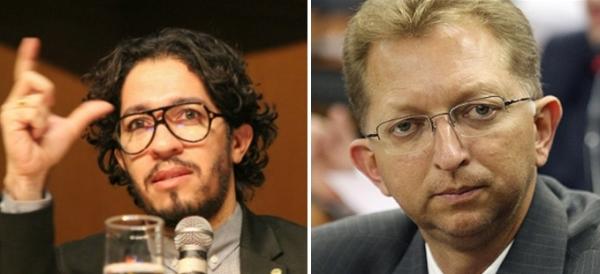 Nova batalha - Jean (E) e Campos se enfrentam numa comissão sobre projeto que legaliza aborto.