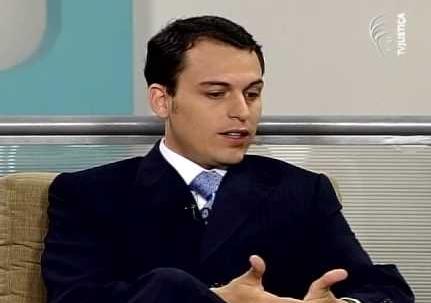 O jovem advogado filho do ministro. Foto: reprodução do Youtube