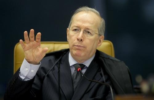 O ministro Celso de Mello. Foto: STF