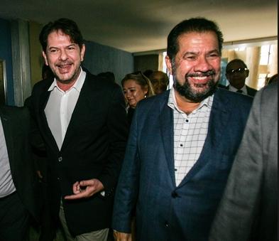 Cid e Lupi: afinados com novo projeto de poder. Foto extraída do verdinha.com.br