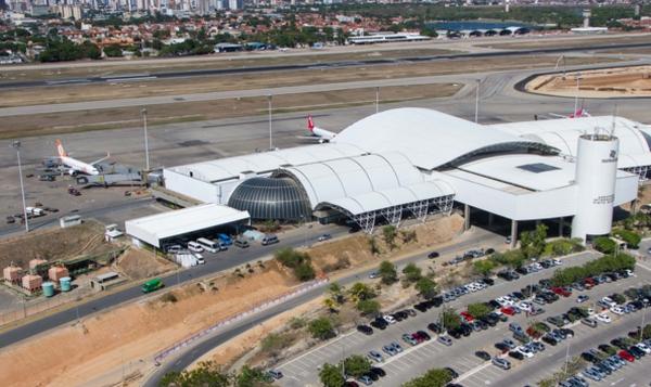 Vista aérea do terminal do Aeroporto Pinto Martins, de Fortaleza, que perdeu R$ 80 milhões. Foto: copa2014.gov.br