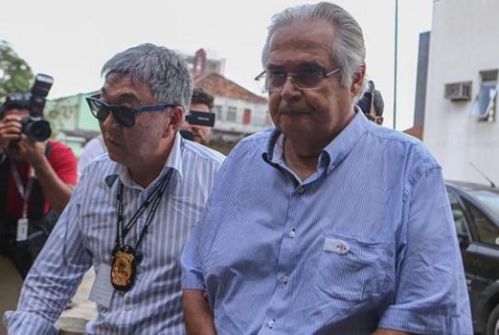 Corrêa, preso na Lava Jato - cliente antigo dos agentes da PF. Foto: Folha/UOL