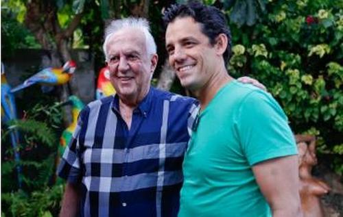 Jarbas (E) com Coelho, em encontro recente num fim de semana.