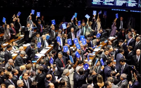 Parte da bancada do PT no plenário. Foto: pt.org