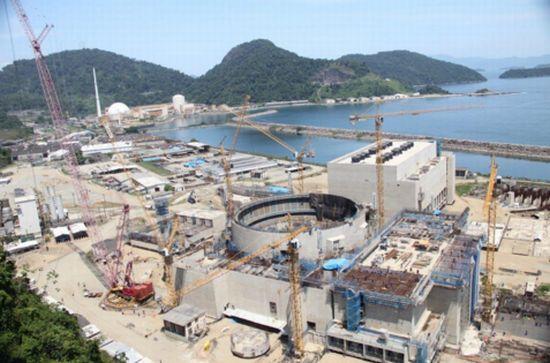 A eternamente inacabada Angra 3, no litoral Sul do Rio: começou há exatos 20 anos. Foto: Eletronuclear