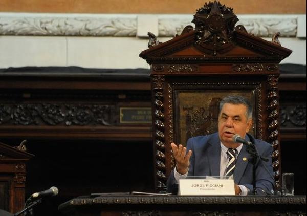 Jorge Picciani, no comando da Alerj. Foto: ABr