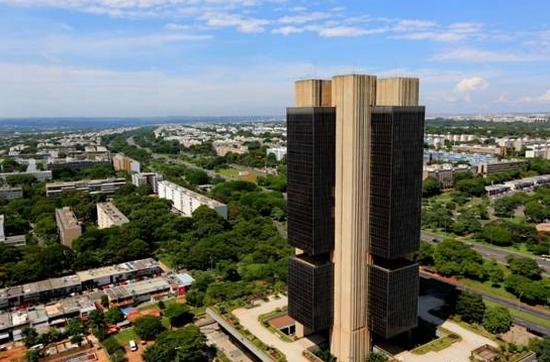 A imponente sede do Banco Central em Brasília. Foto: BC