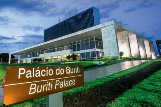 Palácio do Buriti, sede do Governo do DF