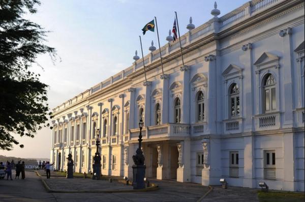 Fachada do Palácio dos Leões, em São Luís
