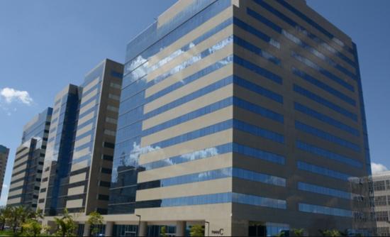 Complexo de edifícios onde fica a sede da SAC (no primeiro prédio à esquerda): é o bunker do troca-troca