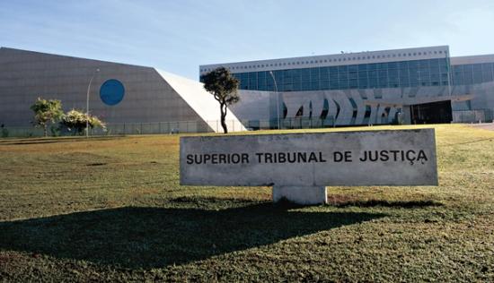 Sede do STJ, em Brasília.