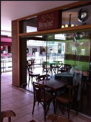 O Broune Café no Sudoeste. Local estratégico - para todos