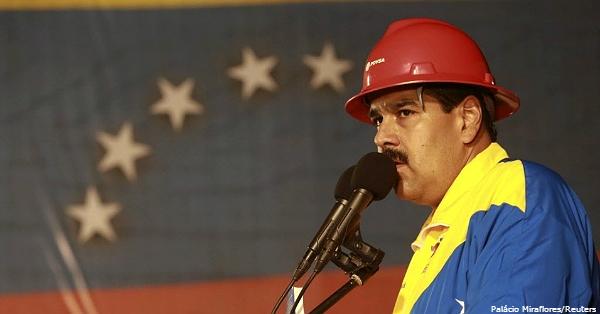 O presidente Nicolás Maduro: parte dos investidores prevê mudança nos rumos políticos do país