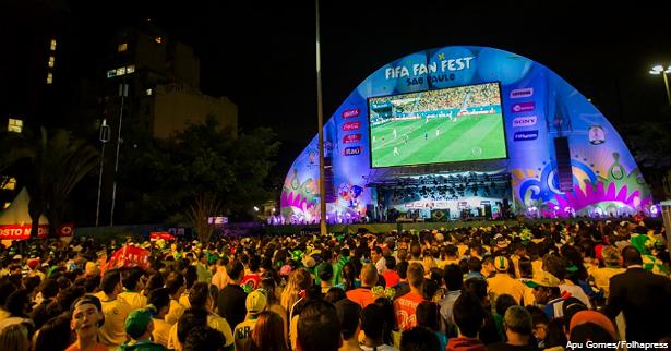 Fifa Fan Fest em São Paulo