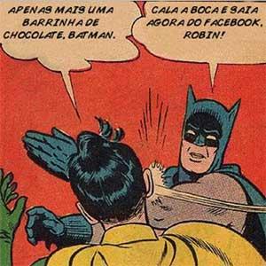 batman robin facebook dinheiro e peso