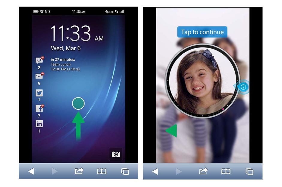 BlackBerry libera site para Android e iPhone que permite experimentar sistema da companhia