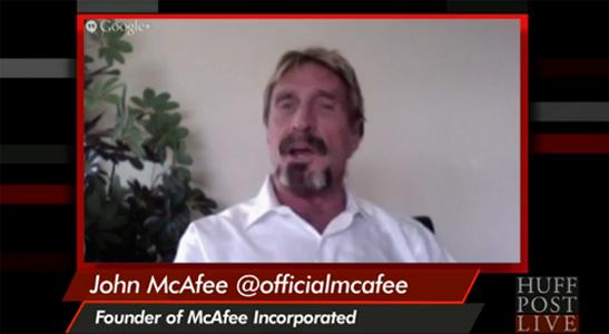 """John McAfee nega assassinato de vizinho dizendo que isso """"não faz seu estilo"""""""