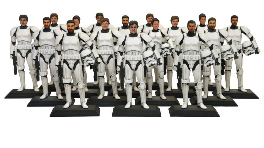 Com impressora 3D, Disney transforma visitantes de parque em stormtrooper por US$ 100