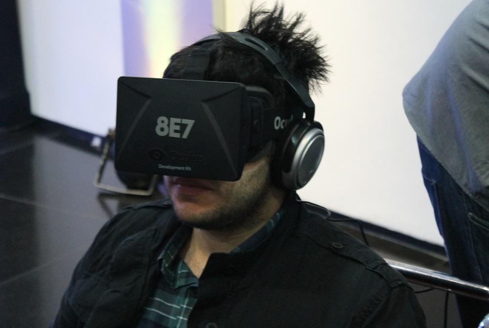 """""""Trambolhão"""", óculos individuais 3D Rift se destacam pelo alto nível de imersão"""
