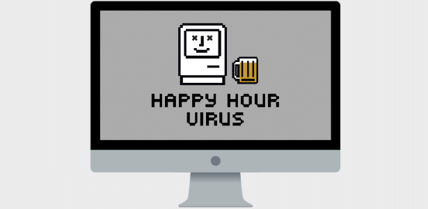 """O site """"Happy Hour Virus"""" estimula os usuários a saírem mais cedo do trabalho"""