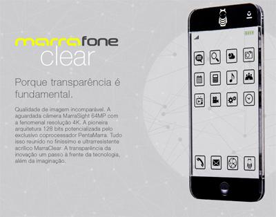 Site fictício da Marra mostra o smartphone ''Marrafone''